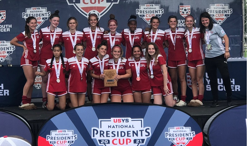 2005 Elite Girls- USYS National President's Cup Finalist